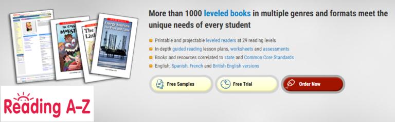 Reading A-Z Онлайн библиотека электронных книг на английском языке для школы